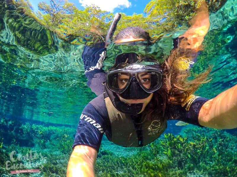 Flutuação Aquário Natural Bonito MS