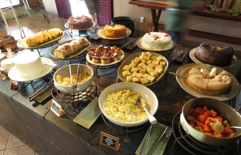 Café da manhã Boca da Onça