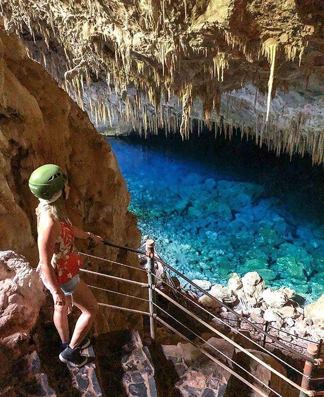 Escadaria da gruta