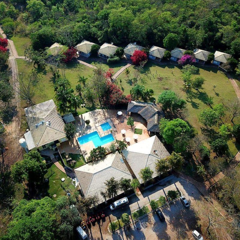 Vista aérea Serra da Bodoquena