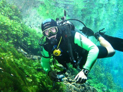 mergulho com cilindro Rio da Prata