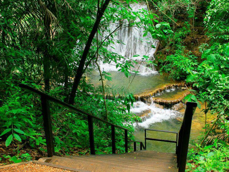 Cachoeira do JabutiBoca da Onça - cachoeira em Bonito MS - Acqua