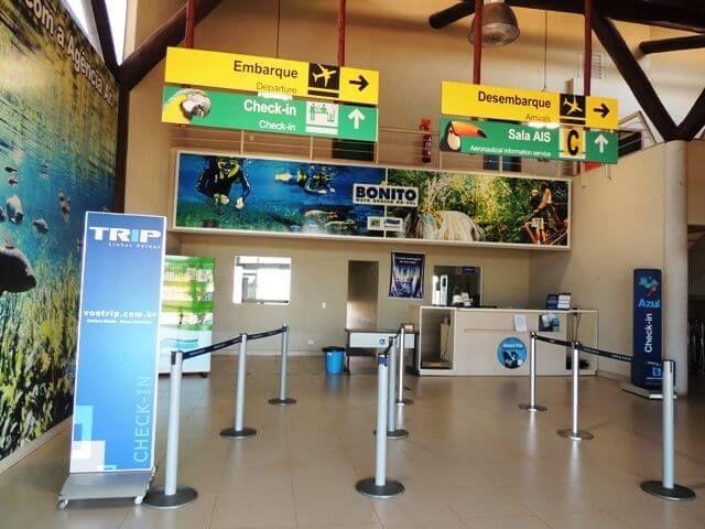 bonito ms -aeroporto regional