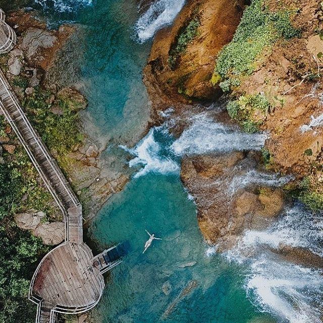 Parque das cachoeiras -Bonito MS - Acqua - vista aérea