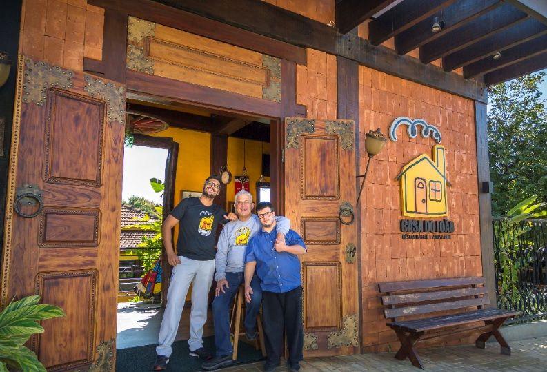 João, Felipe e Joãozinho - uma família a serviço da culinária em Bonito MS